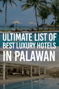 List of Hotels in Palawan, Philippines