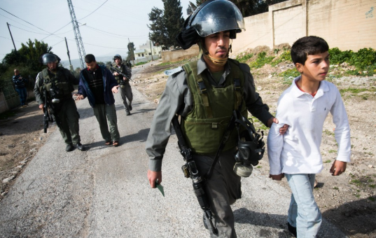 Two Palestinians and an international activist arrested at Kufr Qaddum demonstration